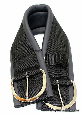"26"" Black Neoprene Western Girth Made in USA  Horse Tack Equine"