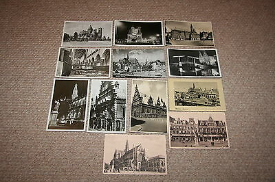 A collection of Haarlem postcards from the 1900s.