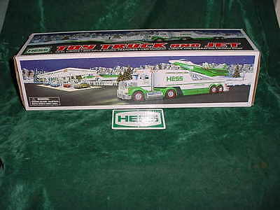 Christmas Xmas Gift 2010 Hess Toy Truck And Jet Truck Toys Truck Mint In Box