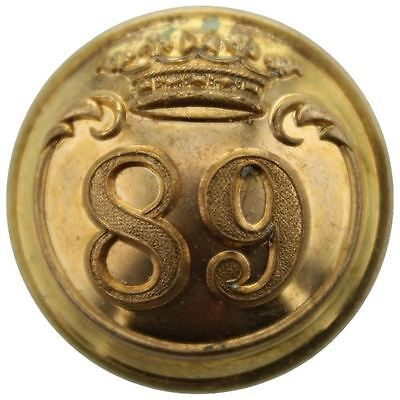 VICTORIAN 89th Regiment of Foot (Princess Victoria's) OFFICERS Button 25mm BB73