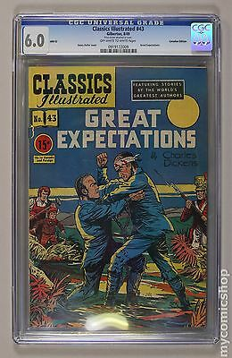 Classics Illustrated 043 Great Expectations Canadian Edition #HRN62 CGC 6.5