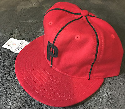 1950 PONCE LEONS Cap EBBETS FIELD FLANNELS 7 1/4 NWT! Puerto Rican Baseball Club