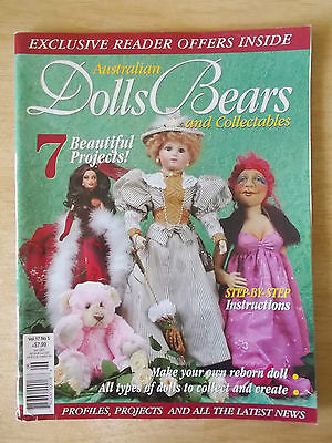ADB&C Vol 17 #5~Doll & Bear Patterns~Reborn Angelica~Carlotta~Isabella~Toybox