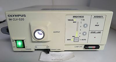 Olympus CLV-S20 Light Source OES Xenon 120V Good Used Working Free Shipping