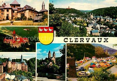 72891793 Clervaux Chateau Abbaye Eglise Camping Clervaux