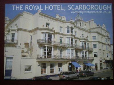 Postcard Yorkshire Scarborough - The Royal Hotel