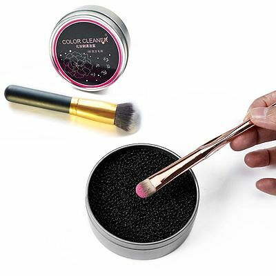 Eyeshadow Beauty Makeup Brush Cleaner Powder Remover 3 Second Color Off Sponge