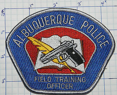 New Mexico, Albuquerque Police Field Training Officer Patch