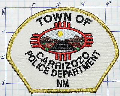 New Mexico, Carrizozo Police Dept White Patch