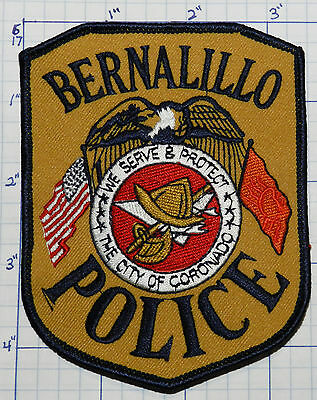 New Mexico, Bernalillo Police Dept Version 2 Patch