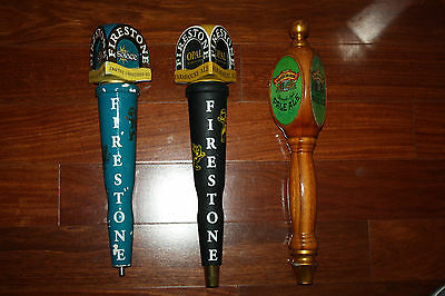 Firestone OPAL PALE ALE Beer Tap Handles Lot of 3