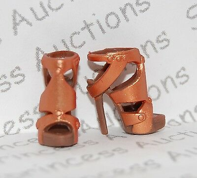 NEW Barbie Basics Collection 2.5 Look 01 Doll Bronze Shoes 2 Model Muse Loose