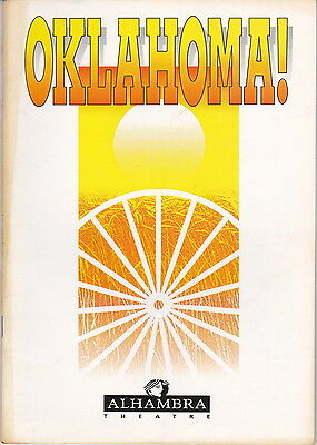 Alhambra Theatre Programme - OKLAHOMA - Signed by Cast Member (Listed Below)