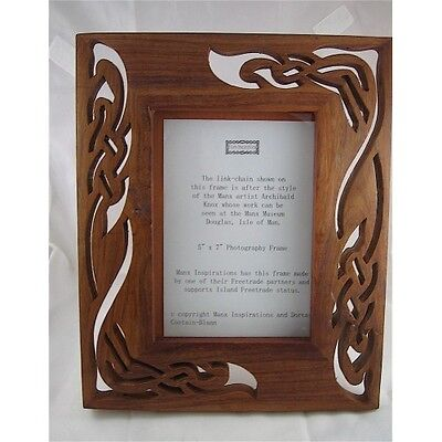 Isle of Man Archibald Knox Style Picture Frame - Brand New