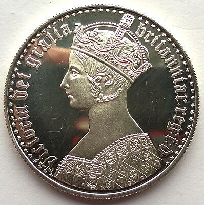 Somalia 2001 Victoria Gothic Crown 250 Shillings Silver Coin,Proof