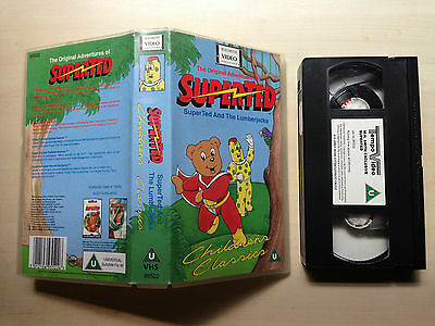 The Original Adventures Of Superted - Superted And The Lumberjacks - Vhs Video