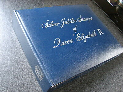 Queens Silver Jubilee 1977 ALBUM,MNH COLLECTION Aitutaki to Gilbert Is 60 PHOTOS