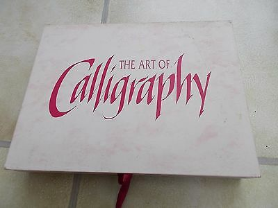 The Art of Calligraphy Ink and Pens etc