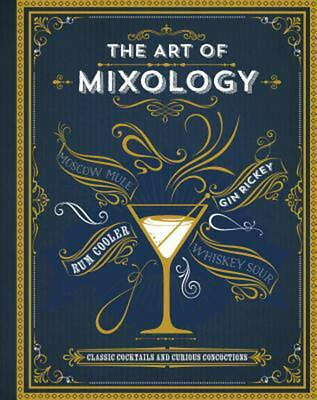 The Art of Mixology by Parragon Books Hardcover Book (English)