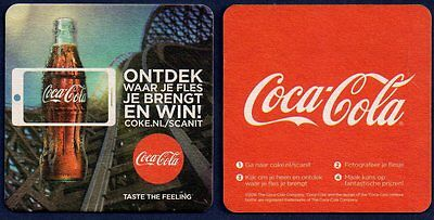 Coca Cola /  Coaster From The Netherlands Jn17006
