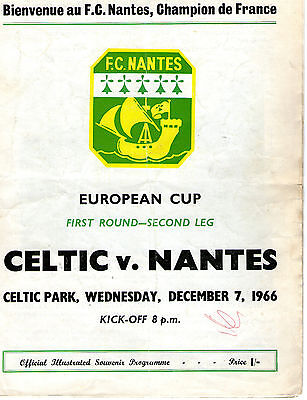 Celtic V Nantes European Cup 1966/67 Lisbon Run.