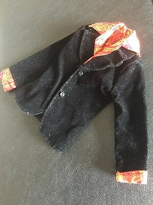 Barbie My Scene Male Doll Clothes RIVER Night On The Town Black Jacket