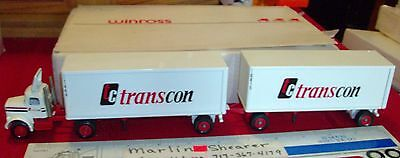 Transcon Trucking  Doubles 9000 Cab Winross Truck