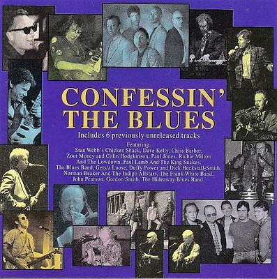 Confessin' The Blues - Various Artists (New Cd)