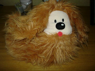 The Magic Roundabout Vintage Dougal Soft Plush Fluffy Dog Toy