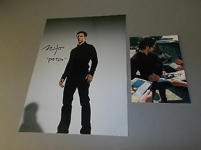Milo Ventimiglia signed signiert Autogramm auf 20x28 Foto in person