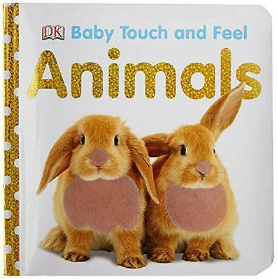 Baby Touch and Feel: Animals by Dorling Kindersley | Hardcover Book | 9781405329