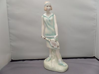 Royal Doulton Tennis Player Figurine  Emily HN3806 - Signed - 1996 - Ex Con