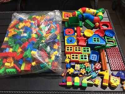Huge Lot of Genuine Lego Duplo Over 250 Pieces Clean Condition