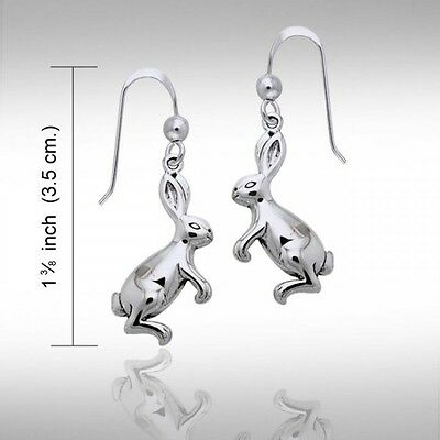 Peter Stone Sterling Silver Mystic Hare Earrings NEW