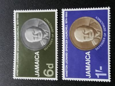 Jamaica - Churchill 1968 MH