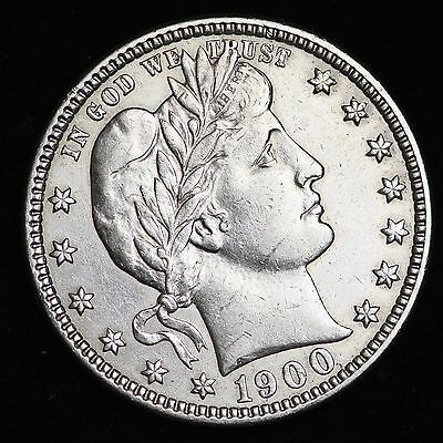 1900 Barber Quarter CHOICE AU+/UNC FREE SHIPPING E276 UFM