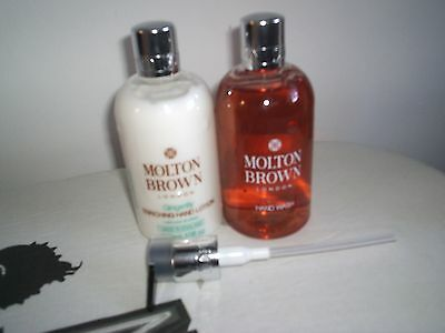 Molton Brown Gingerlily Hand Wash & Enriching Hand Lotion 300ml