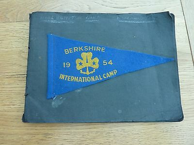 Original Photo Album 1954 Berkshire International Girl Guide Camp X 11 Photos