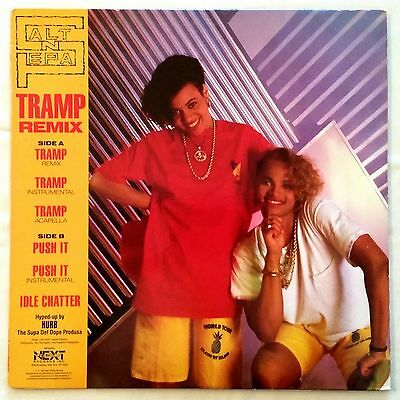 1987 - Salt-N-Pepa - Tramp Remix / Push It - Next Plateau Red Vinyl Original
