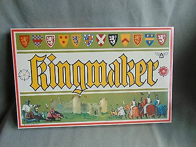 Kingmaker Ariel - Wars Of The Roses Set Strategy Board Game  Vgc