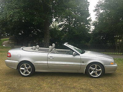 2004 Volvo C70 2.4T T5 Gt Auto Mystic Silver Pearl*stunning Convertible*