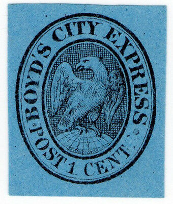(I.B) US Local Post : Boyd's City Express 1c