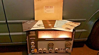 National NC-109 General Coverage Shortwave & Broadcast Band Receiver