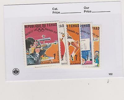 Chad Stamps Lot 18