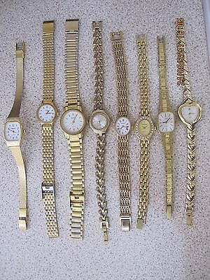 Job Lot Of Ladies Retro Ladies Watches,sold As Seen,house Clearance