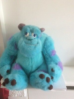 Disney Store .large Plush Sulley Soft Toy..monsters Inc