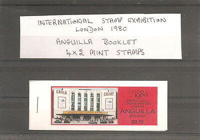Anguilla Booklet Of 4 X 2   Mint   Stamps  Stamp Exhibition London 1980