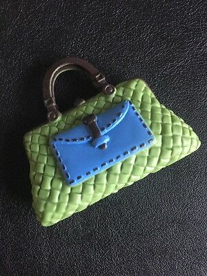 Barbie My Scene Doll Fashion Accessories Clothes Green & Blue Hand Bag
