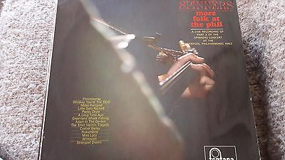 The Spinners ‎– More Folk At The Phil Vinyl LP Fontana ‎– STL5234 UK 1965 30/54