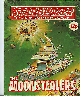 The Moonstealers,starblazer Space Fiction Adventure In Pictures,no.29,1980